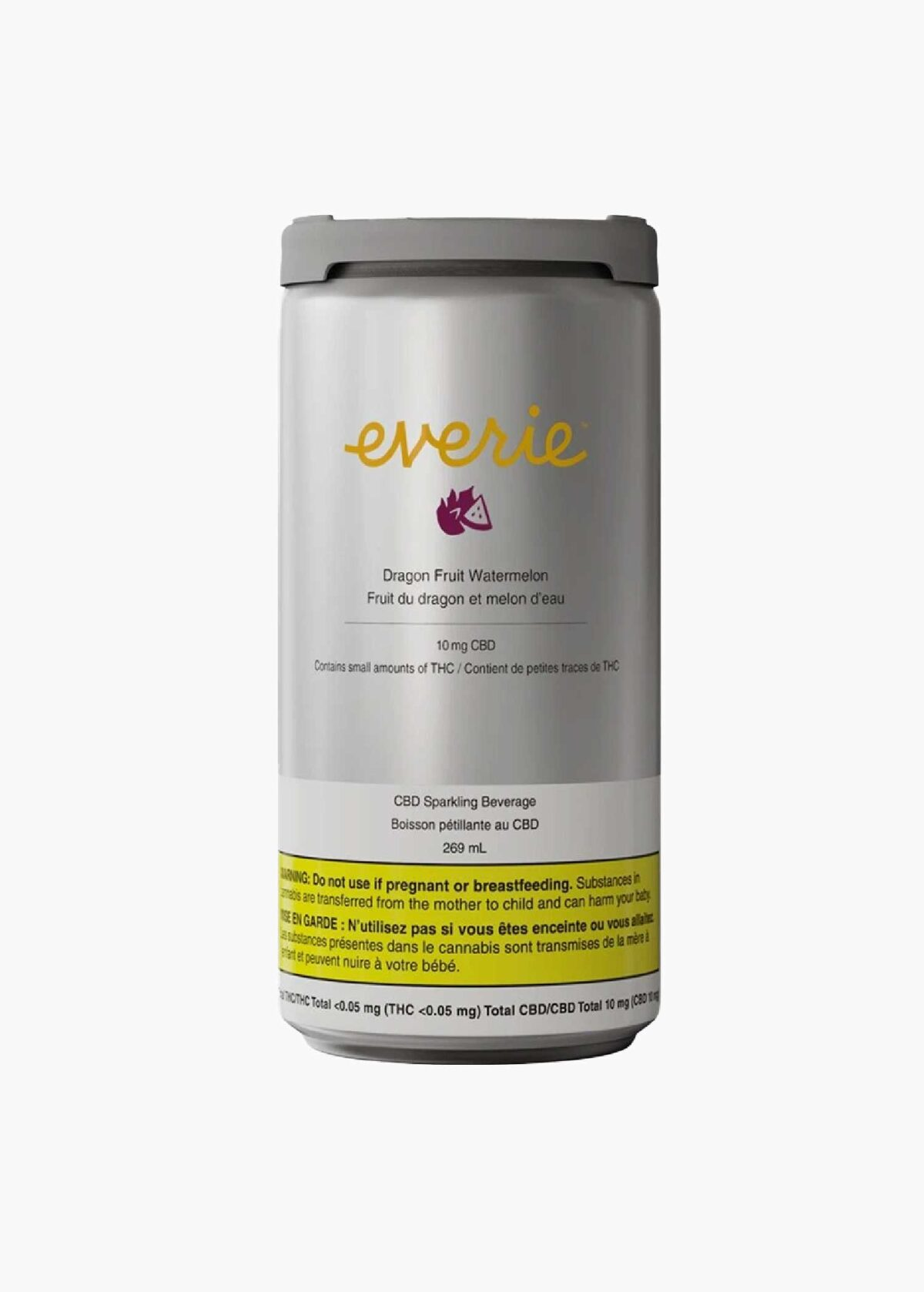 Everie Dragonfruit Watermelon CBD Beverage