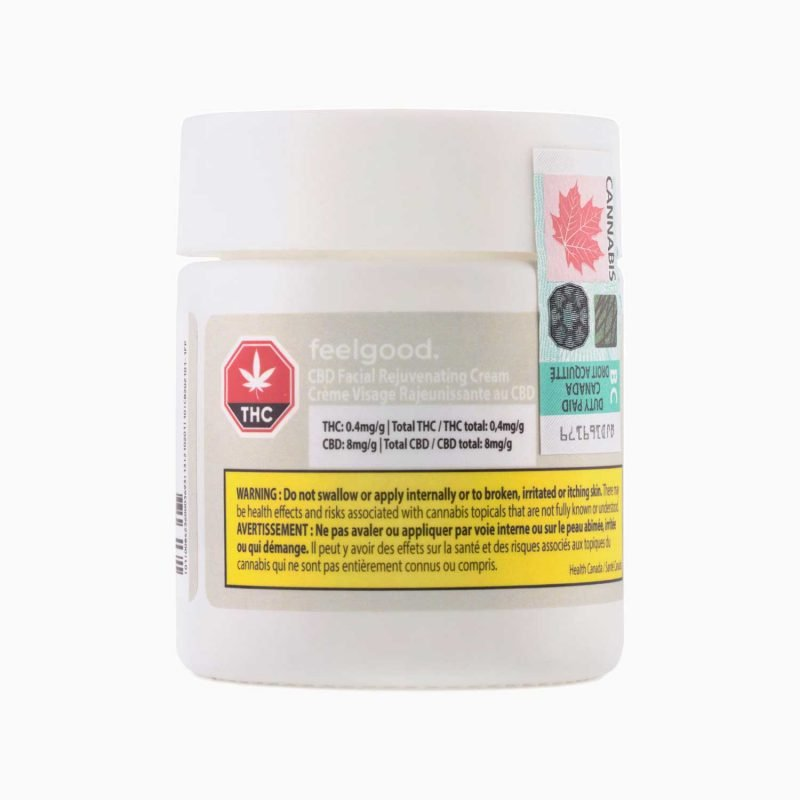 Feelgood. CBD Facial Rejuvinating Cream