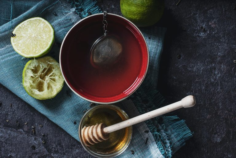 cannabis-infused honey goes well with your evening tea